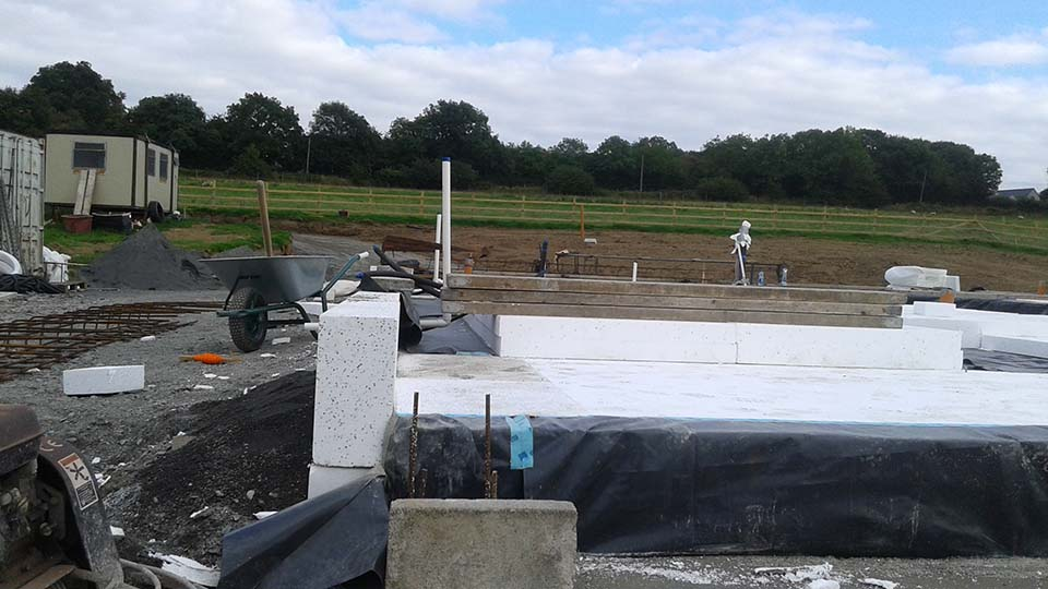 Ballymore Eustace Insulated Foundation Install 2